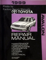 1999 Toyota Avalon Repair Manual