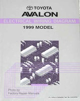 Toyota Avalon Electrical Wiring Diagrams 1999 Model