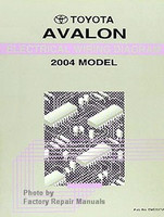 2004 toyota avalon electrical wiring diagrams