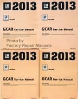 2013 GM G/Car Buick Regal Service Manual Volume 1, 2, 3, 4