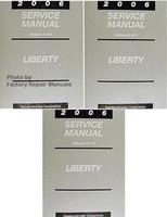2006 Jeep Liberty Factory Service Manual 3 Volume Set - Original Shop Repair