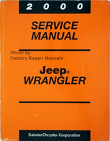 2000 Service Manual Jeep Wrangler