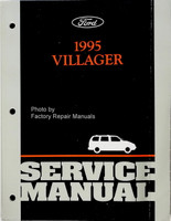 1995 Mercury Villager Service Manual