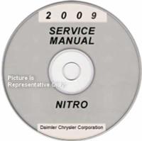 2009 Dodge Nitro Factory Service Manual CD-ROM - Original Shop Repair