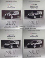 2007 Dodge Nitro Factory Service Manual Volume 1, 2, 3, 4