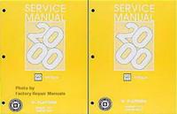 Service Manual 2000 Oldsmobile Intrigue Volume 1, 2