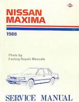 1988 Nissan Maxima Factory Service Manual - Original Shop Repair