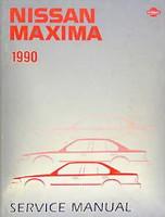 1990 Nissan Maxima Factory Service Manual - Original Shop Repair