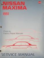 1991 Nissan Maxima Factory Service Manual - Original Shop Repair
