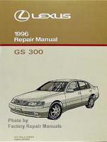 1996 Lexus GS300 Factory Service Manual - GS 300 Shop Repair