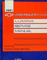 1991 Chevy Lumina Car Factory Service Manual - Original Shop Repair