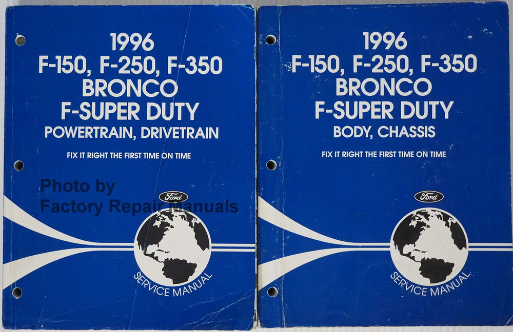 ford factory manuals