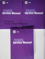 Chevrolet SSR 2005 Service Manual Volume 1, 2, 3
