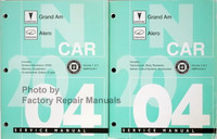 Pontiac Grand Am Oldsmobile Alero Service Manual Volume 1, 2