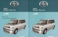 2005 Scion xB Factory Service Manual Set Original Shop Repair