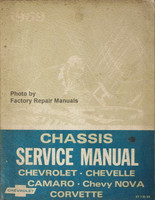 1969 Chevrolet Bel Air, Camaro, Corvette, Monte Carlo, Chevelle Chassis Service Manual