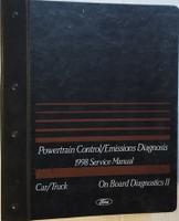 Powertrain Control/Emissions Diagnosis 1998 Service Manual Car/Truck Ford