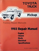 Toyota Truck Pickup 1983 Repair Manual