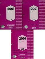 2001 Chevy Tracker Factory Service Manual 3 Volume Set Original Shop Repair