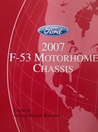 2007 ford f53 motorhome chassis factory shop service manual & wiring  diagrams  image 1