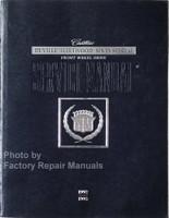 1992 1993 Cadillac DeVille Fleetwood Service Manual