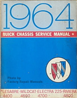 1964 Buick LeSabre, Wildcat, Riviera & Electra 225 Chassis Shop Service Manual