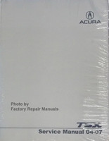 2004 - 2007 Acura TSX Factory Service Manual