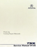 2004 - 2008 Acura TSX Factory Service Manual