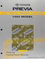 1993 Toyota Previa Electrical Wiring Diagrams