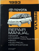 1993 Toyota Previa Repair Manual