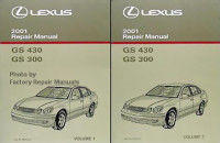 2001 LEXUS GS430 & GS300 Factory Service Manuals