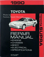1990 Toyota Supra Repair Manual