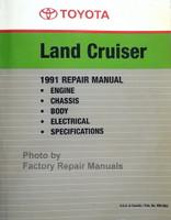 1991 Toyota Land Cruiser Repair Manual