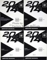 2014 Chevrolet Sonic Service Manual Volume 1, 2, 3, 4