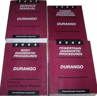 2003 Service Manual Durango