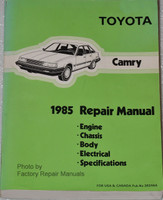 1985 Toyota Camry Factory Repair Manual