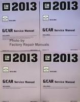 2013 Chevy Malibu Service Manual Volume 1, 2, 3, 4