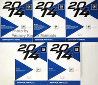 2014 Buick LaCrosse Service Manual Volume 1, 2, 3, 4, 5