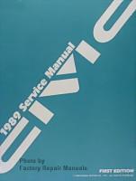 1989 Honda Civic Sedan & Hatchback Service Manual