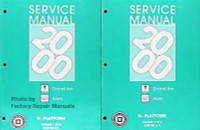 2000 Pontiac Grand Am, Oldsmobile Alero Service Manuals