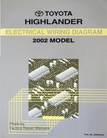 2002 Toyota Highlander Wiring Diagrams