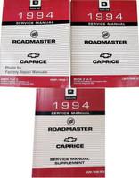 1994 Roadmaster Caprice & Impala SS Service Manuals