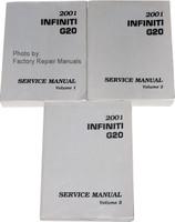 2001 Infiniti G20 Service Manuals