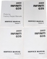 2003 Infiniti G35 Coupe Service Manuals