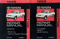 1995 Toyota T100 Repair Manuals Volume 1, 2