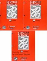 2000 Chevrolet Corvette Service Manuals