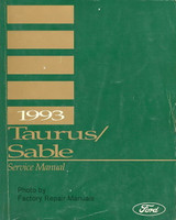1993 Taurus Sable Service Manual