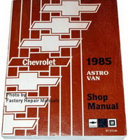 1985 Chevrolet Astro Van Shop Manual