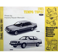1985 Ford Tempo Mercury Topaz Electrical & Vacuum Troubleshooting Manual