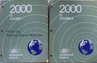 2000 Lincoln LS Ford Workshop Manual Volume 1, 2